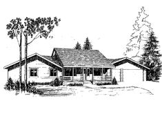 Eplans Ranch House Plan - Three Bedroom Ranch - 1620 Square Feet and 3 Bedrooms from Eplans - House Plan Code HWEPL68687