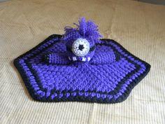 Purple Evil Minion Lovey