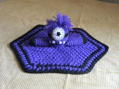Purple Evil Minion Lovey