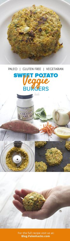 I've always been a burger person. Beef burgers, turkey burgers, veggie burgers—I don't discriminate—I love them all. Get the recipe here: http://paleo.co/SWPveggieburger