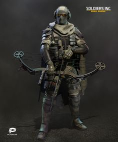 ArtStation - Hellhound Scout, Igor Golovkov Military Armor, Military Gear, Armor Concept, Concept Art, Punisher, Character Concept, Character Art, Tactical Armor, Military Action Figures