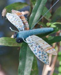 Free pattern: Little dragonfly softie