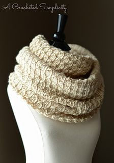 """Knit-Look"" Infinity Stitch Cowl $3.00"