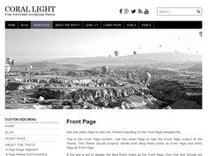 Coral Light – Kostenlose WordPress-Themes