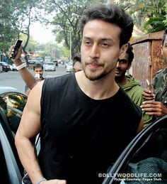 Tiger Shroff snapped outside #New look #Baaghi2 Movie