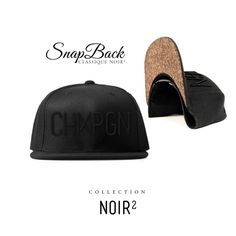 CASQUETTE CHMPGN / NOIR²  http://chmpgn.fr/products/casquette-chmpgn-noir2