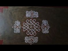 Rangoli Side Designs, Rangoli Designs Simple Diwali, Rangoli Designs Latest, Rangoli Borders, Free Hand Rangoli Design, Small Rangoli Design, Rangoli Patterns, Rangoli Designs With Dots, Rangoli Ideas