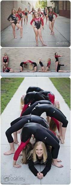 Team gymnastics photo ideas!  Red River Valley Gymnastics Grand Forks, ND  Please like my Facebook page to see more!!!  https://facebook.com/Oakleyphotography3