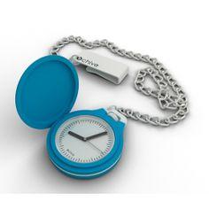 OChive Pocket Watch in Light Blue - Skiyn.com
