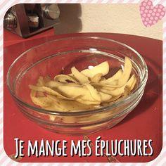 Chips de peau de patates !