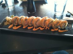 Spider Roll...used the tempura shrimp recipe from here