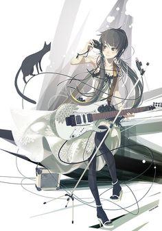 guitarist by vofan