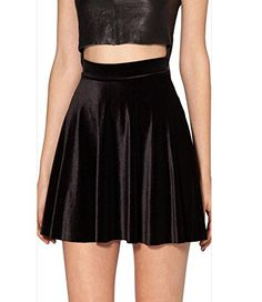 Idingding Womens Hot Sale Autumn Velvet Half Length Flared Skater Mini Skirt,Black,XS Idingding http://www.amazon.com/dp/B01567UV64/ref=cm_sw_r_pi_dp_O3Gdxb0C2DFMC