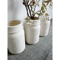 Porcelain Mason Vase | dotandbo.com