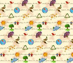 Spoonflowernaturefabric_shop_preview: have you ever wanted to design your own fabric? This would be your go to place to do it. Starting @ $17.99 and going up per yard - it might be high, but how else would you get fabric that you designed?