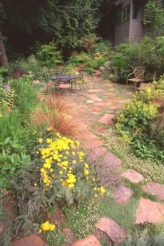 Landscape Stone Patio Design, Pictures, Remodel, Decor and Ideas - page 3