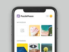 My Puzzles by Shaun Moynihan Game Interface, Interface Design, Ios Ui, Game Design, Ui Design, Game Ui, Mobile Design, User Experience, Service Design
