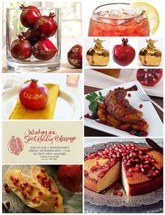 rosh hashanah recipes pomegranate