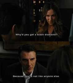 Carrie and Big City Quotes, Movie Quotes, Mr Big Quotes, Carrie And Mr Big, Carrie Bradshaw Quotes, Movie Lines, Perfect Couple, New York, Hopeless Romantic