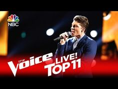 """The Voice 2016 Daniel Passino - Top 11: """"Time After Time"""" - YouTube"""