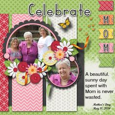 Celebrate Mom - Scrapbook.com