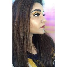 """132 Likes, 9 Comments - ANERI THAKKER 💫 (@thatwingedeyeblogger) on Instagram: """"If you can't see my Highlighter from space I'm not wearing it enough 🤗✨ . . .…"""""""