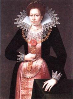 1615 FEDDES, Pieter  Portrait of a Lady  Oil on panel, 105 x 79 cm  Private collection