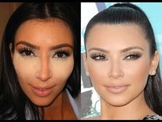my personal fav makeup artist on youtube! he is like the BEST!  here is how to do a kim kardashian look/contouring.. #makeup #goss anyaschweiger