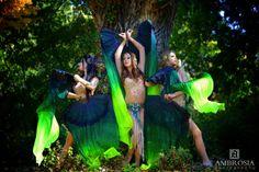 AMBROSIA | Production - Rain Drops  // Costume design: Vesna Zorman // Photo by: Urosh Cotman // Retouching: Urosh Cotman, Vesna Zorman // Dancer: Efrat Kazir, Meytal, Oria Levintal