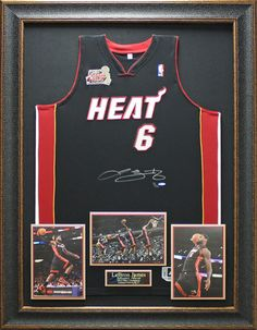 3b7f62613 Lebron James Signed Jersey Framed Limited Edition