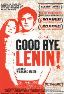 "Movies Set in Berlin ""Good Bye, Lenin!"" was released in 2003 and directed by Wolfgang Becker - © X-Filme Creative Pool/Wikimedia""Good Bye, Lenin!"" was released in 2003 and directed by Wolfgang Becker - © X-Filme Creative Pool/Wikimedia Film Watch, Movies To Watch, Florian Lukas, Daniel Brühl, Cinema Posters, Movie Posters, Vintage Movies, Entertainment, Cinema"