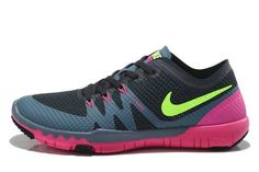 53c1d303fee Womens Nike Free Trainer 3.0 V3 Peach Red Teal Green Shoes