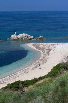 Zalongo beach in Epirus