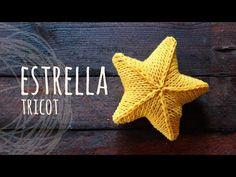 Tutorial Knitting Star - Knitting for beginners,Knitting patterns,Knitting projects,Knitting cowl,Knitting blanket Knitting Club, Loom Knitting, Knitting Stitches, Free Knitting, Baby Knitting Patterns, Sewing Patterns, 3d Star, Learn How To Knit, Circular Knitting Needles