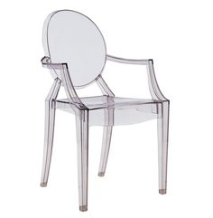 Transparent polycarbonate chair mod. Victoria Ghost, Kartell ...