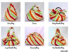 flexible furoshiki bag