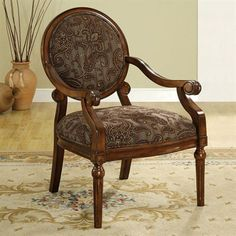 Furniture of America CM-AC6993 Elsmere Accent Chair