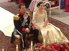 "At 4:46 PM Crown Princess Frederik and Mary Donaldson said ""I do"" in Copenhagen Cathedral and Denmark had a new Crown Princess; wedding of Crown Prince Frederik of Denmark and ms. Mary Donaldson, May 14th 2004"