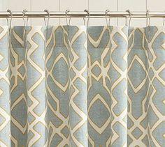 Shelby Shower Curtain #potterybarn