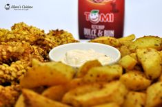 crispy strips 20 Chicken Wings, Wedges, Meat, Ethnic Recipes, Food, Kitchens, Salads, Beef, Wedge