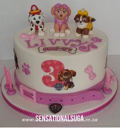 PAW Patrol Birthday Cake Girl cakepins.com