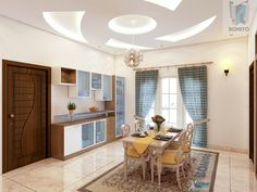 Beautiful 4bhk Home Interiors In Prestige Bella, Chennai. This Is The Hall  Connecting The Part 69
