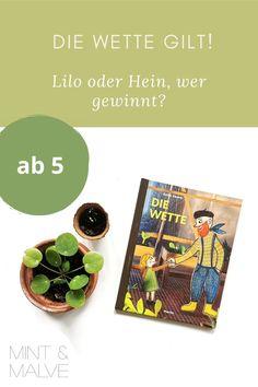 Antje Damm erzählt in ihrem neuen Bilderbuch eine schöne Geschichte über Lilo, die ein Faible hat für Pflanzen. Lilo geht mit Gärtner Hein eine Wette ein: Wer in 4 Wochen ein kleines Pflänzchen zur grösseren Pflanze aufzieht, hat gewonnen. Ob sie gegen den Experten ankommt? Klar! Lilo hat so einige Tricks auf Lager. Auf dem Blog kriegt ihr einen Einblick in das Kinderbuch, das Antje Damm in ihrer besonderen Technik gestaltet hat. Ein Hingucker! Tricks, Mint, Blog, Paper, Smart Girls, Picture Books For Children, Learn To Read, Little Girls, Nice Asses