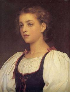 Фредерик Лейтон. «Блондинка». 1879 г. Холст, масло.