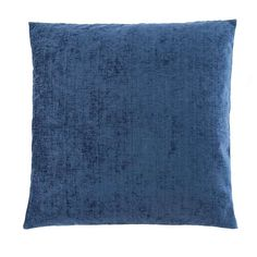 This square chenille cushion is finished in rich navy blue with a woven textured finish and features a machine washable, removable cover and a polyester hollowfibre filling. Gray Color, Colour, Home Furnishings, Bedroom Decor, Cushions, Throw Pillows, Fabric, Collections, Shop