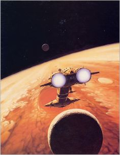 Peter Elson, The Moons of Jupiter