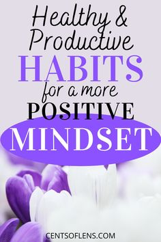 Find out how you can achieve a more positive mindset with these healthy and productive habits! #productivity #positivity #selfcare #personalgrowth Positive Mindset, Positive Life, Becoming A Better You, Personal Growth Quotes, Finding Inner Peace, College Survival, Improve Productivity, Healthy Lifestyle Changes, College Tips