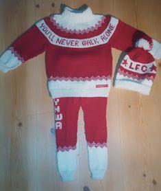 For en tid tilbake va da eindel som spurte etter lfc barnesett siden eg va så heftige på og designa te voksne heila tio .jau j. Minion Baby, Liverpool, Minions, Christmas Sweaters, Knit Crochet, Barn, Knitting, Inspiration, Design