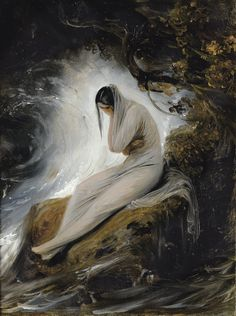 The Maiden's Lament by Emile Jean Horace Vernet