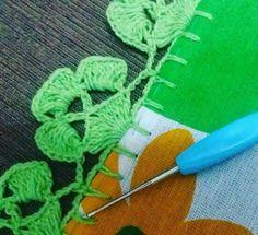 Beğendiğim el işleri Crochet Boarders, Crochet Edging Patterns, Crochet Diagram, Love Crochet, Easy Crochet, Knit Crochet, Crochet Hats, Crochet Classes, Crochet Projects